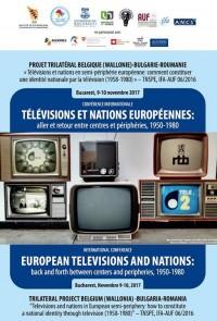 International conference Télévisions et nations européennes : allers et retours entre centres et