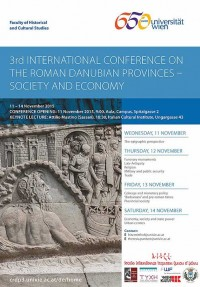 3rd International Conference on the Roman Danubian Provinces